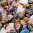 Stock Photo: Semi precious gemstones.