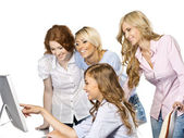 Women at office — Stock Photo