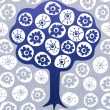 Royalty-Free Stock Vector Image: Doodle tree