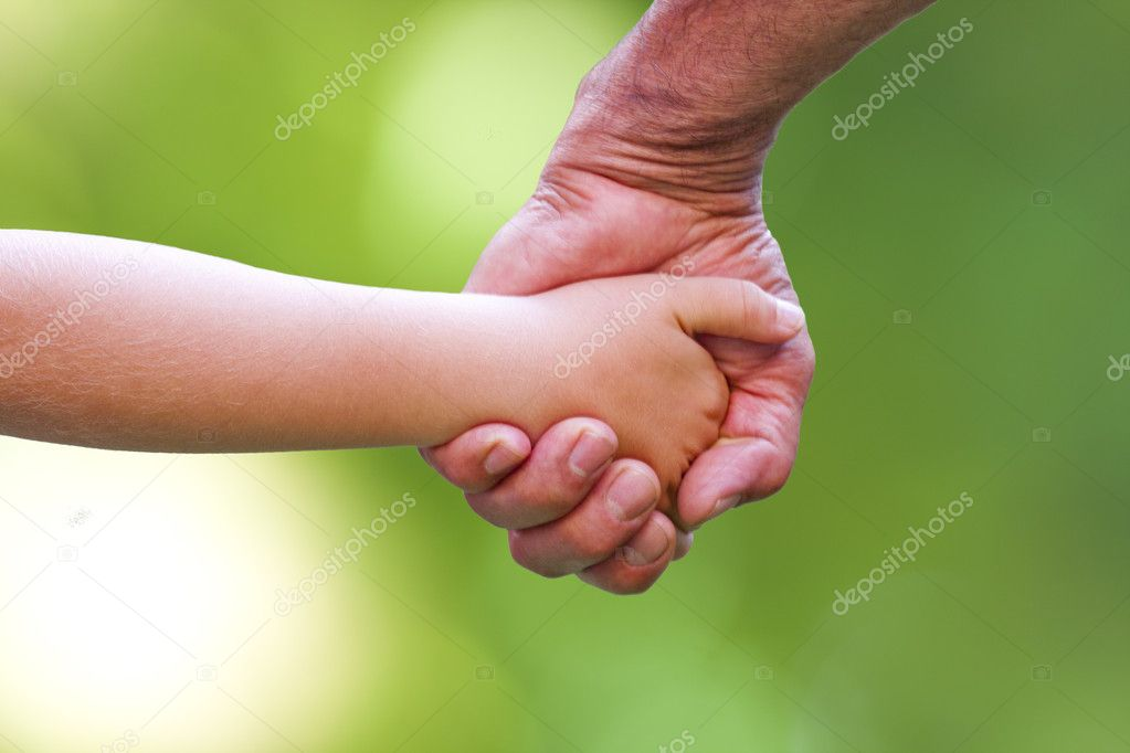 Father and child labor — Stock Photo #6326354