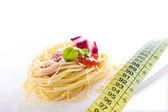 Healthy diet, pasta — Stock Photo