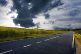 Landscape of the road — Stock Photo