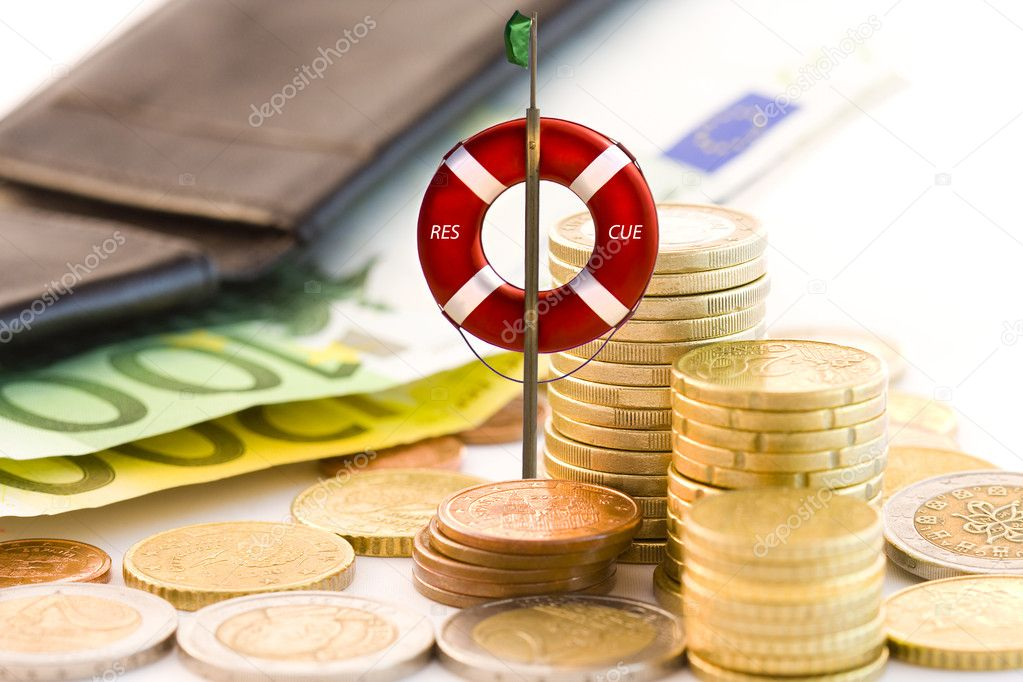 Rescuing the economy — Stock Photo #6336757