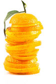 Oranges sliced — Stock Photo