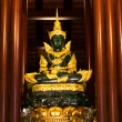 Emerald Budhha — Stock Photo