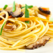 Stir fried noodles — Stock Photo