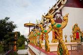 Swan statue in temple — Stok fotoğraf