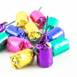 Colorful Firecrackers Isolated — Foto Stock