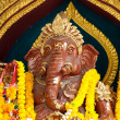 Hindu ganesha God  at temple in thailand — Stock Photo