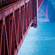 Stock Photo: Golden Gate FOG