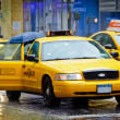 Stock Photo: New YORK TAXI