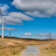 Stock Photo: Windfarm