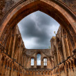 Stock Photo: Glastonbury Abbey