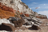 Hunstanton Cliffs — Stock Photo