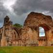 Glastonbury Abbey - Foto Stock