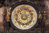 Ancient astronomical Clock — Stock fotografie