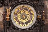 Ancient astronomical Clock — Stock Photo