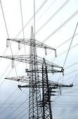 Electric Pylones — Stock Photo