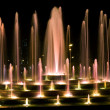Stock Photo: Nights fountain
