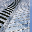 Sky scraper on blue sky — Stock Photo