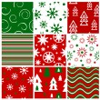 Stock Vector: Christmas seamless