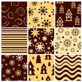 Christmas seamless — Stock Vector