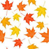 Autumn seamless — Stock Vector