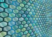 Hexagonal cells background — Stock Vector