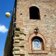 Medieval Tower in Volterra - Stock Photo