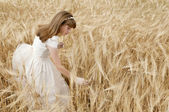 Communion girl — Стоковое фото