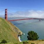 Golden Gate Bridge Panorama — Stock Photo