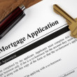 Stock Photo: Mortgage Application