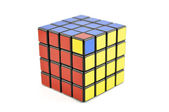 4 x 4 Cube Unsolved — Stock Photo
