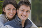Young Attractive White Couple — Stock Photo