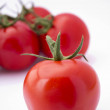 Close-up photo of tomatoes. — Stock fotografie