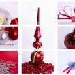 Christmas decorations mix of — Stock Photo