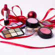 Cosmetic makeup kit — Stock Photo