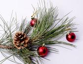 美しい光沢のある装飾的なクリスマス — ストック写真