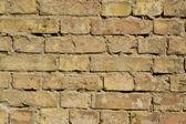 Rough Brick Wall full frame — Stock Photo