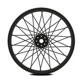 Bike wheel — Stock Vector