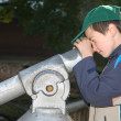 Boy with Spyglass — Stock Photo #6511797