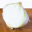 Half bulb of onion — Stock Photo