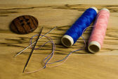 Wire for sew — Stock Photo