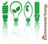 Environmental energy — Stock Vector