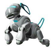 Robot Dog Jumping — Stock Photo