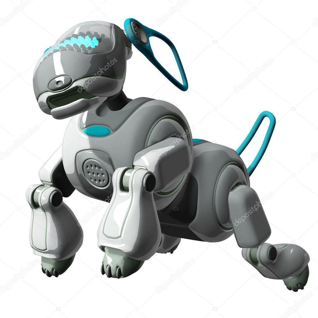 Robot Dog Toy Render