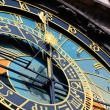 Famous medieval astronomical clock in Prague, Czech Republic — Stock Photo #6402196