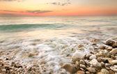 Coucher de soleil de mer — Photo