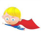 Little Superboy — Stock Vector