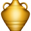 Stock Vector: Urn jar